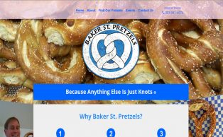 Max Height Web Solutions - Baker St Pretzels