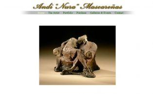 Nura - Artist and Sculpture - Website by Max Height Web Solutions